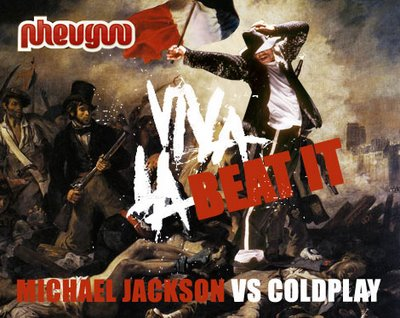 Michael Jackson y Coldplay Video