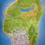 mapa gta v android