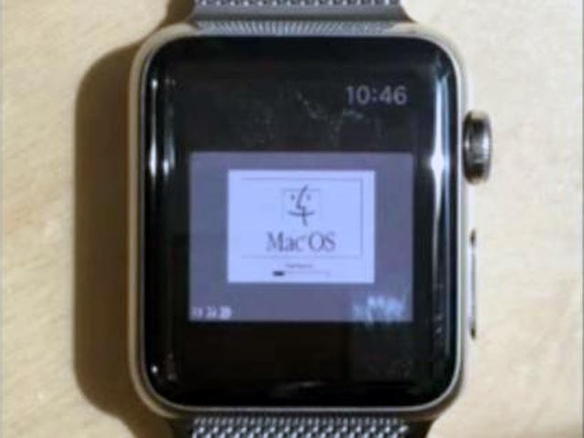 apple watch MacOS