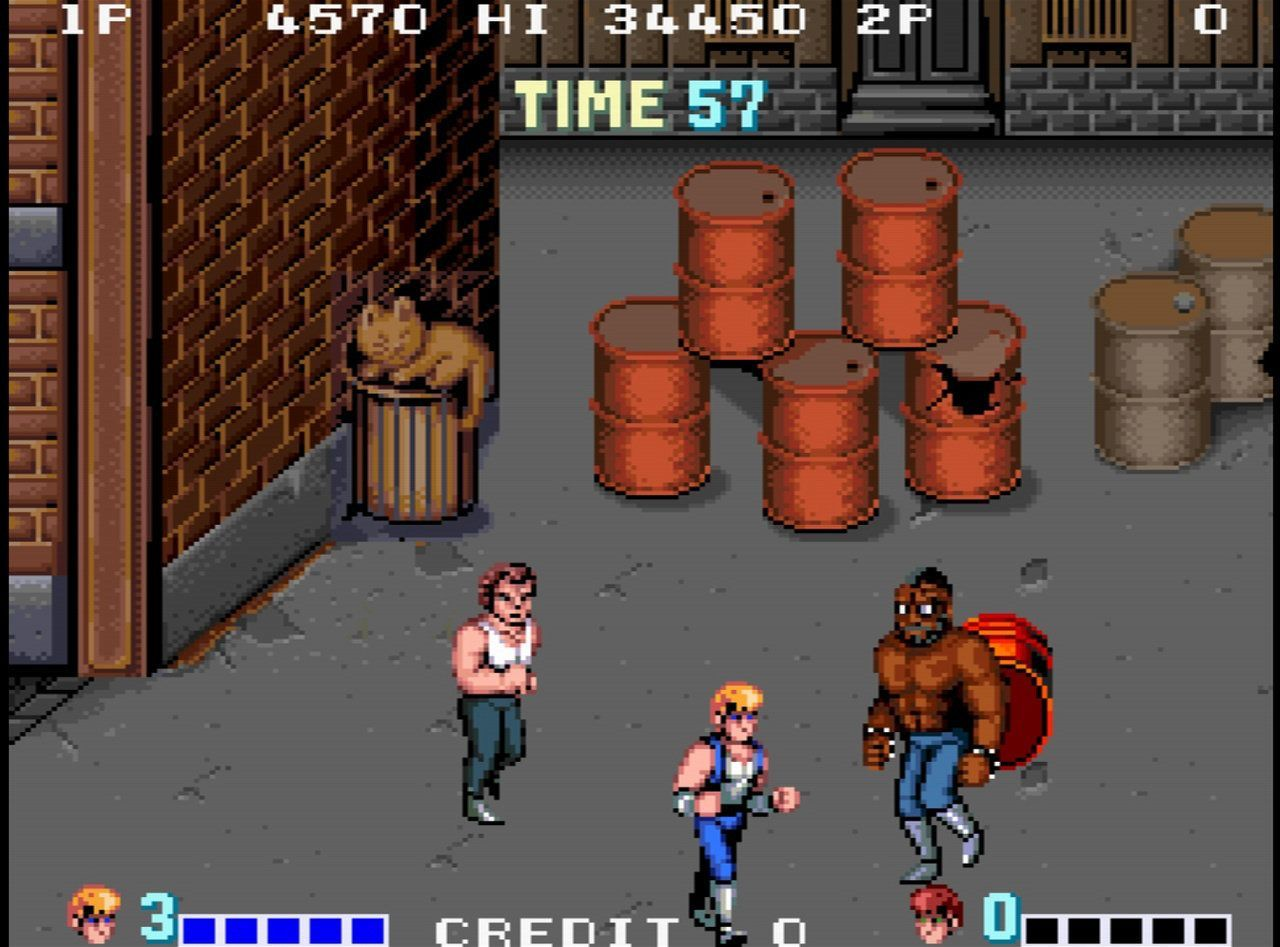 double dragon videojuegos retro